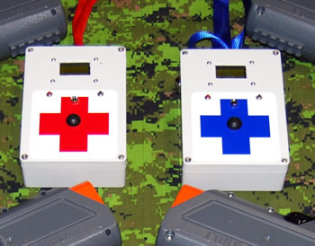 laser tag hire - medic boxes