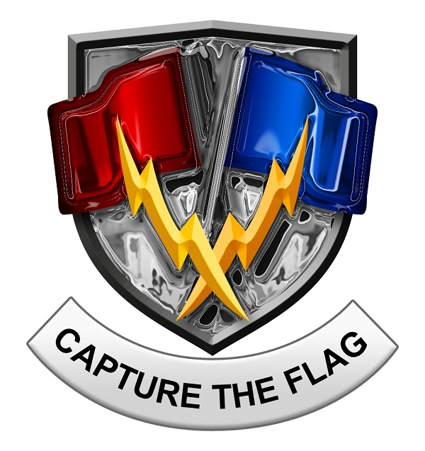capture the flag laser tag game