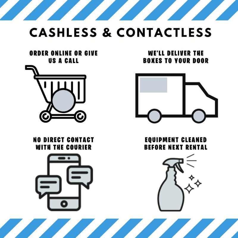 cashless & contactless delivery