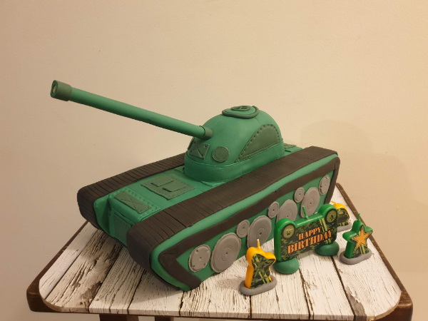 the tank cake for your birthday party