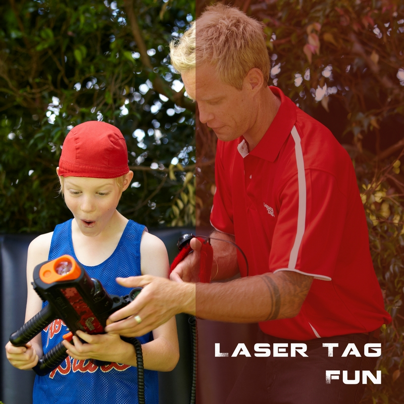 laser tag at home