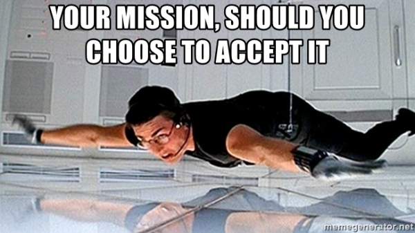 your mission: party!